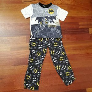 Batman Short Sleeve Pajama Set Size 10